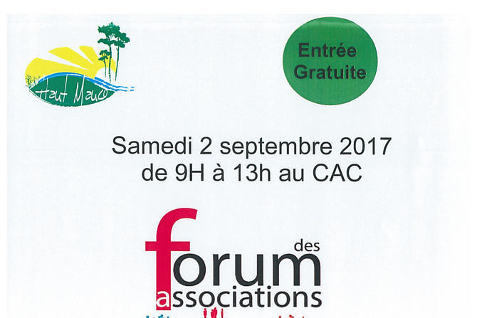 FORUM des ASSOCIATIONS de Haut-Mauco