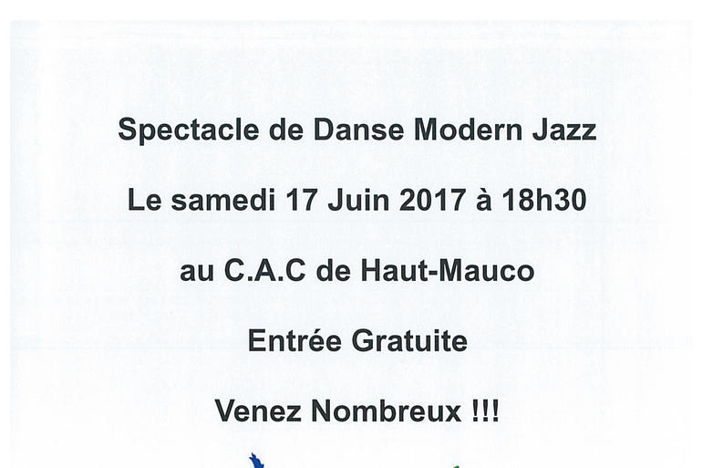 Spectacle de danse